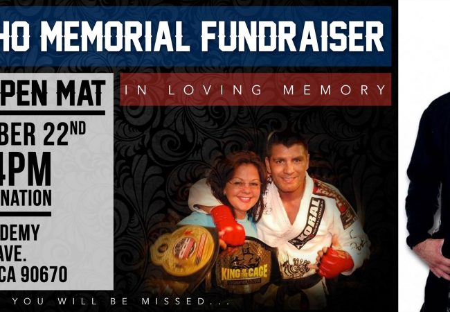 Support Joe Camacho's memorial fund at open mat on Dec. 22 at New Breed Academy