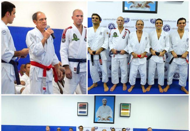 Valente Bros celebrate lifetime of Jiu-Jitsu with huge belt ceremony in Miami