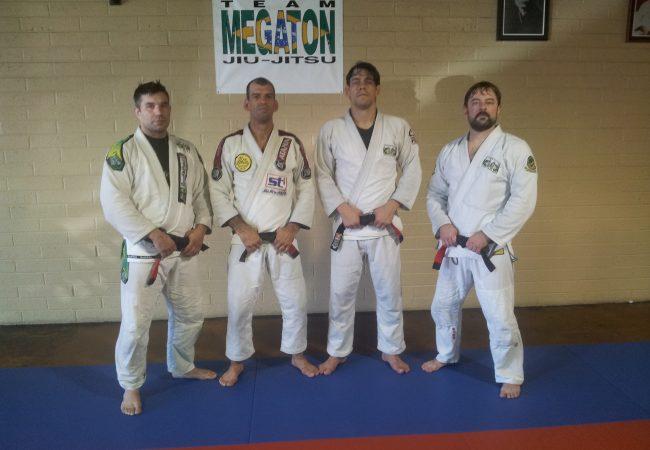 Wellington Megaton Dias promotes three students to black belt at Team Megaton Jiu-Jitsu