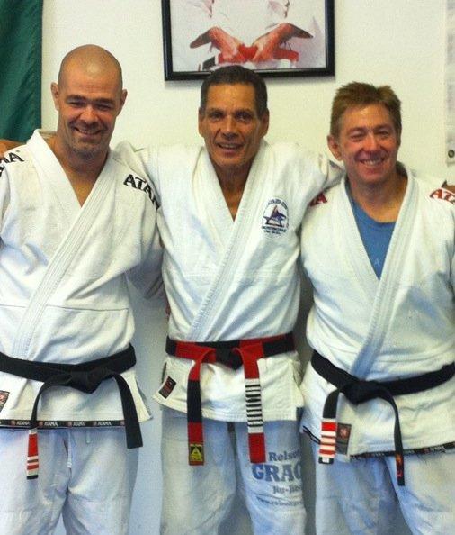 Relson Gracie black belt Robin Geiseler