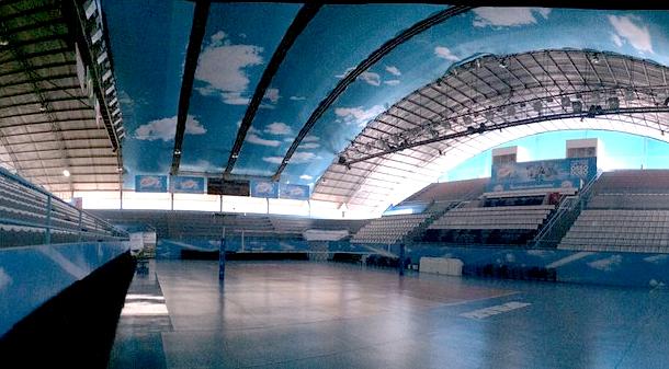 O ginásio da seletiva em Osasco. Foto: Divulgação