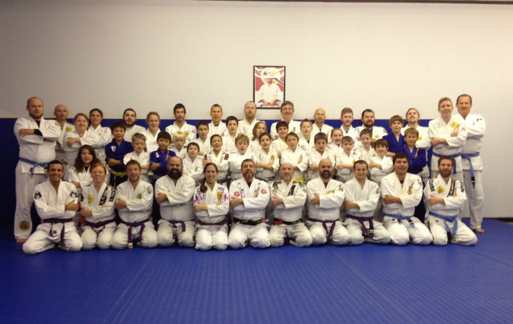 The group at the Gracie Humaita North Carolina In-House Tournament. Photo: Personal Archive