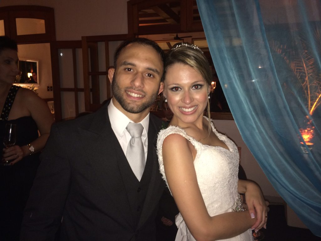 Samir and his wife Nathalia. Photo: Personal Archive