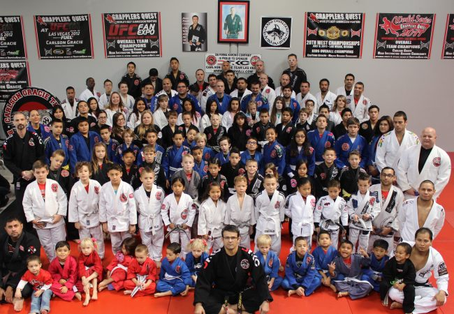 GMA Cavalcanti Carlson Gracie Team earns new belts and visit from Santa Claus