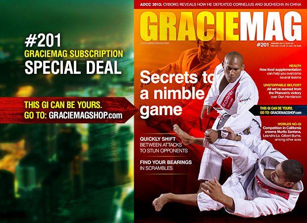 GM #201: Learn a nimbler style from Ronaldo Jacaré
