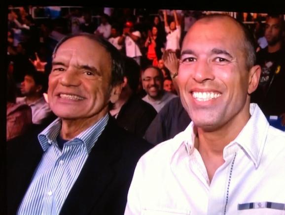 Veja Royce Gracie e grande mestre Pedro Valente em cerimônia de faixa nos EUA