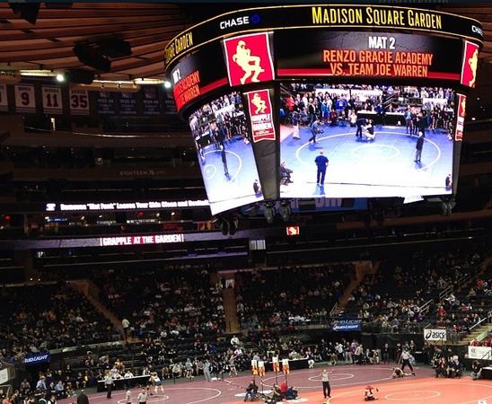 Video: Renzo Gracie Academy sends MMA team to wrestle at Madison Square Garden