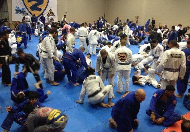Qual foi o melhor seminário de Jiu-Jitsu de que você participou em 2013?