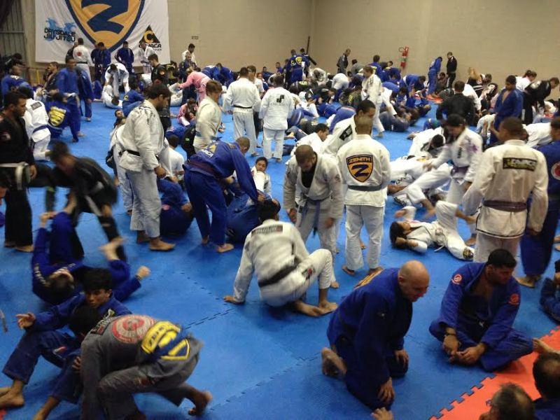 Seminário de Jiu-Jitsu de Buchecha na academia de Cavaca, no dia 22 de dezembro. Foto: Divulgação