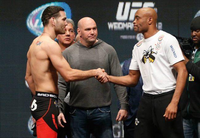 Aqueça para Anderson x Weidman com o Countdown do UFC 168