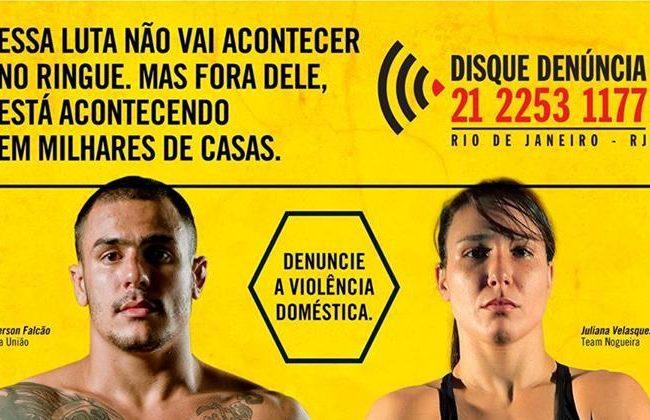 Luta mista do Shooto é ação contra violência doméstica do Disque Denúncia