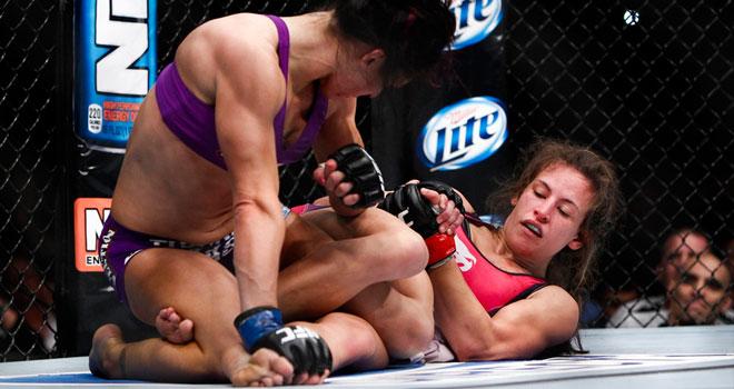 A novidade em 2013 foi uma luta feminina entre as melhores da temporada no UFC. Foto: Divulgação/UFC