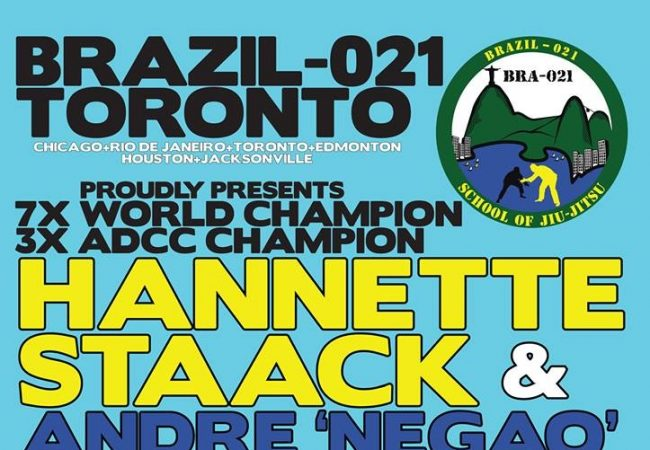 Learn from Hannette Staack and Andre Terencio in Toronto, Canada on Dec. 8
