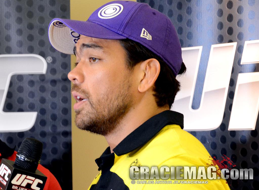 Machida encara Mousasi no UFC Jaraguá, em fevereiro. Foto: Carlos Arthur/GRACIEMAG