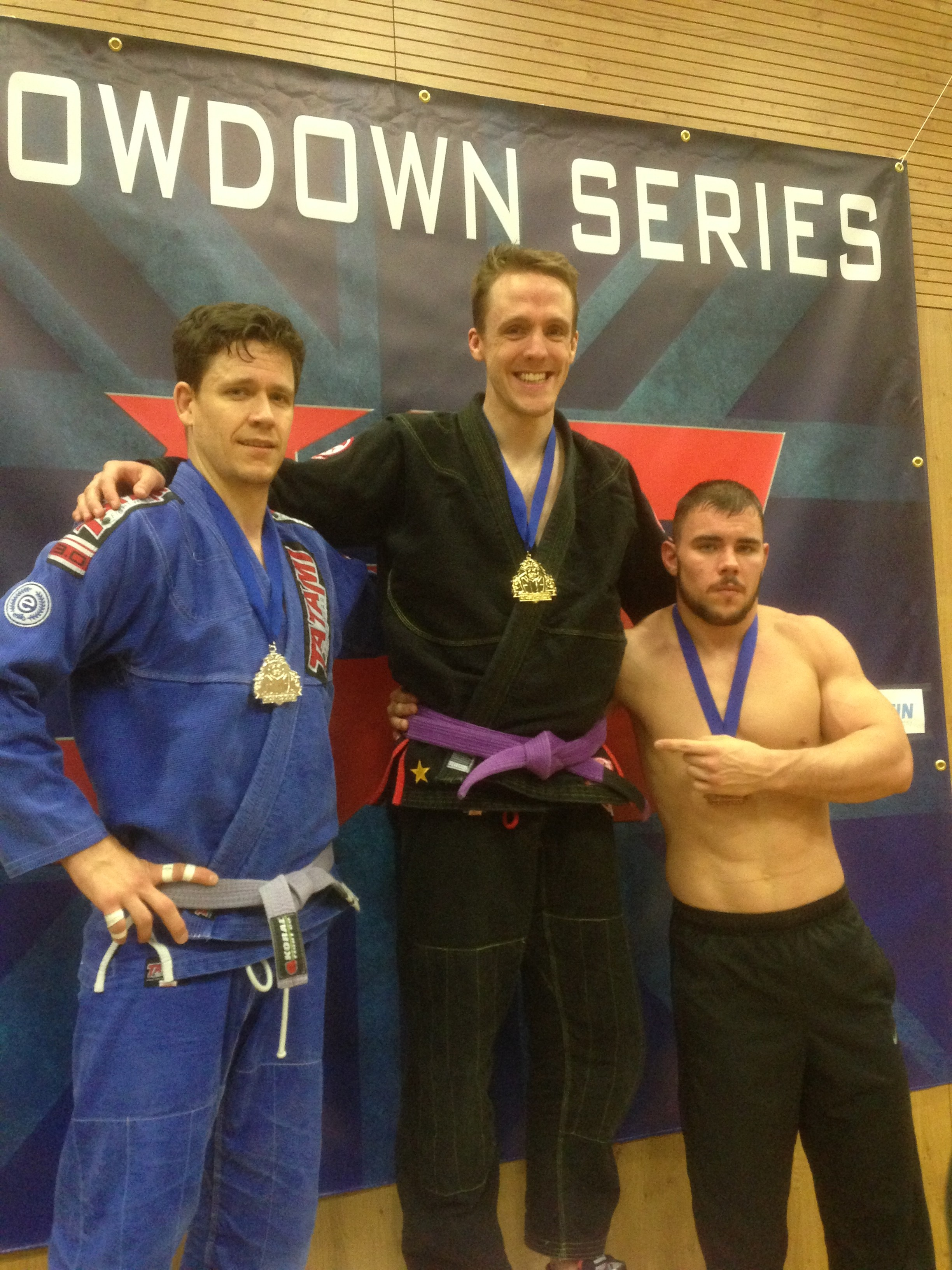 Daniel Lewis won gold at the UK Championship. Photo: Personal Archive