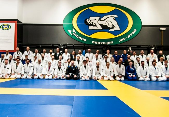 GMA Zingano BJJ gathers for belt promotions on Dec. 7, earns three new brown belts