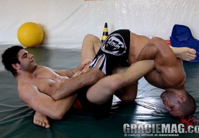 Rodolfo Vieira afia guarda de João Gabriel em treino secreto de Jiu-Jitsu