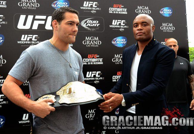 Vídeo: o Jiu-Jitsu de Weidman para enfrentar Anderson Silva no UFC