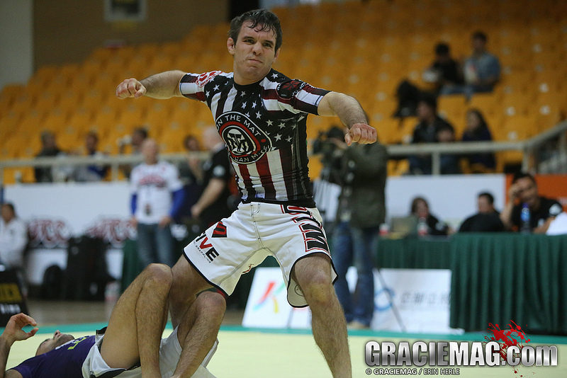 Rader at the 2013 ADCC in Beijing, China. Photo: Erin Herle
