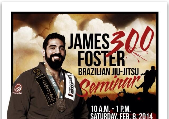 James Foster seminar at Triton Fight Center on Saturday, Feb. 8 in Broken Arrow, OK