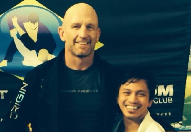 Cerebral palsy doesn't stop this man from training Jiu-Jitsu; what's your excuse?