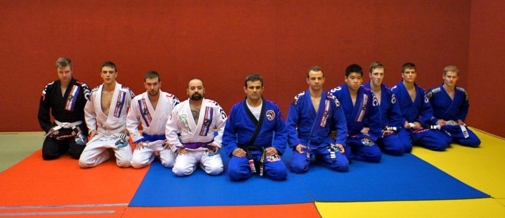 Master Cavalcanti with Cavalcanti Jiu-Jitsu Luxembourg. Photo: Personal Archive