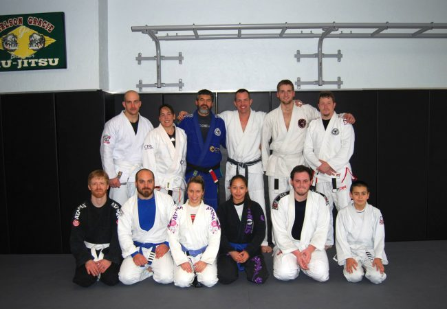 GMA Seamless Progression Academy holds de la riva clinic with Alan Stockman