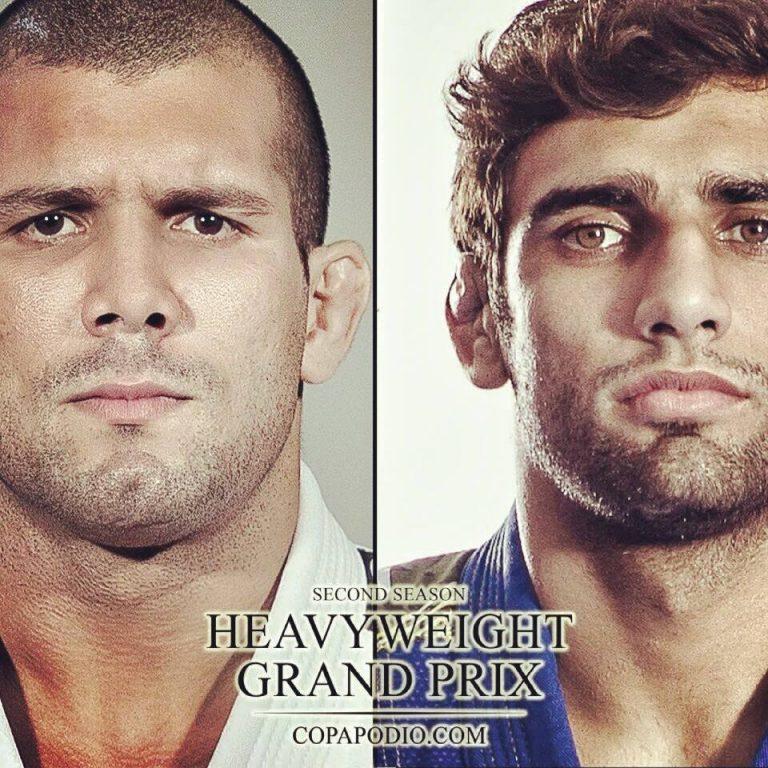 The second edition of the Copa Podio Heavyweight Grand Prix will be on Feb. 1 in Rio de Janeiro, BR.