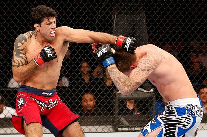 O lutador estreou no UFC com nocaute no primeiro round. Foto: Divulgação