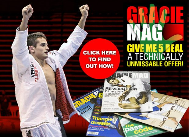 GRACIEMAG and Caio Terra together in a technically unmissable offer!