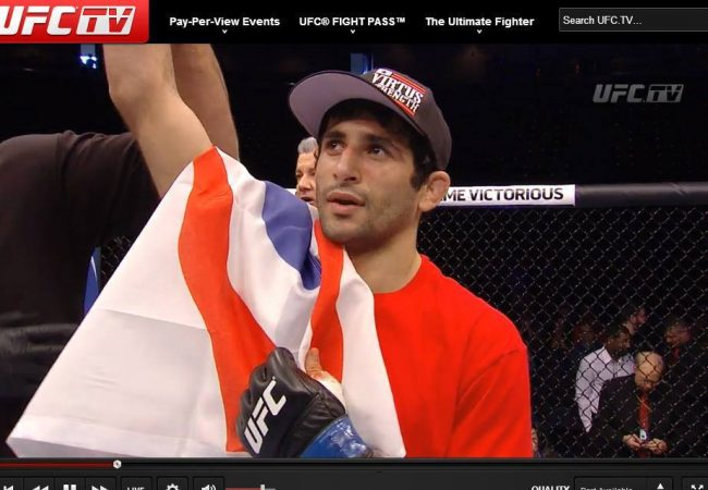 Jiu-Jitsu black belt Beneil Dariush seals the deal in UFC debut with first round choke