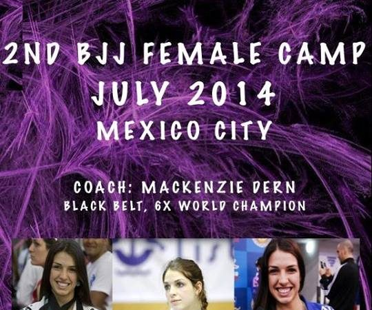 Join Mackenzie Dern's female training camp in Mexico City this July