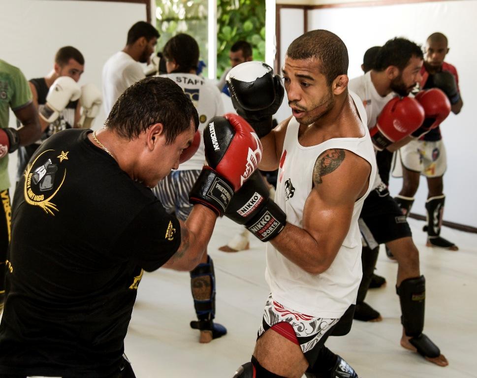 FOTO de Alexandre Loureiro  Inovafoto Jose Aldo treina no Rio com Popo