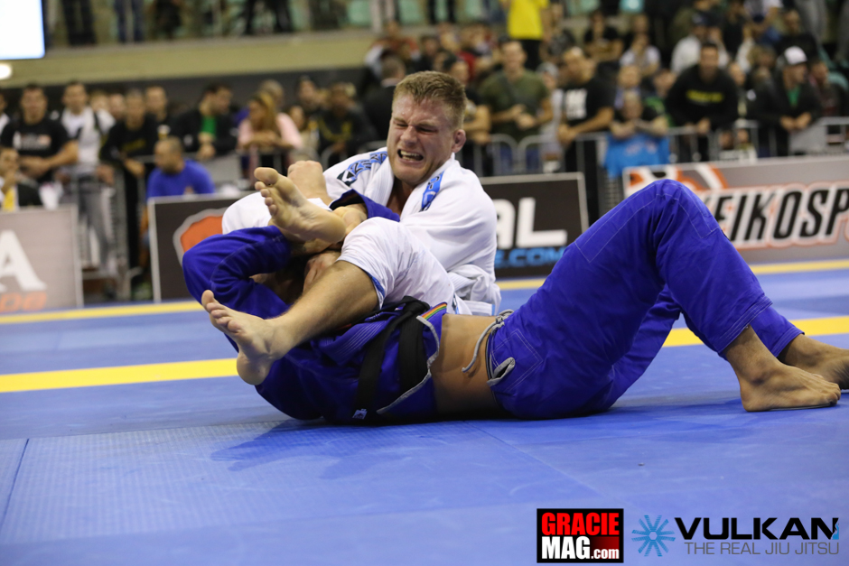 Alex Trans wrote his name in history when he became the first European to win the Euro Open black belt open class division