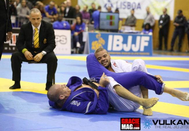 Veja como Lucio Lagarto venceu Rafael Lovato na final do Europeu de Jiu-Jitsu