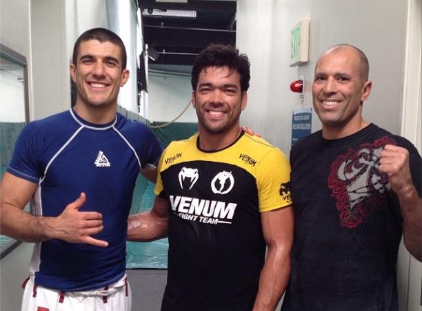 UFC Jaraguá: Lyoto treina com Gracies; Sertanejo ligado no wrestling de rival