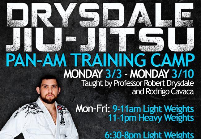 Prepare for Pan Ams with Robert Drysdale and Rodrigo Cavaca in Las Vegas March 3-10