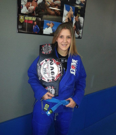 Fit mom wins first place at NAGA World Championship