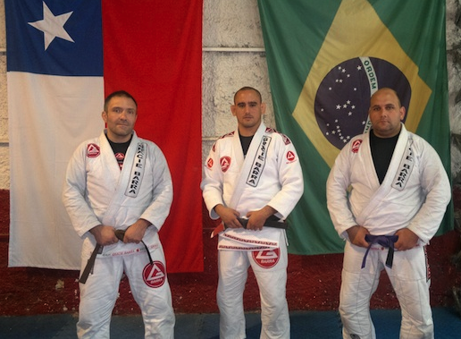 Jaime Carvajal Ferrer, Juan Pablo García and Fernando Yzzat Quijada