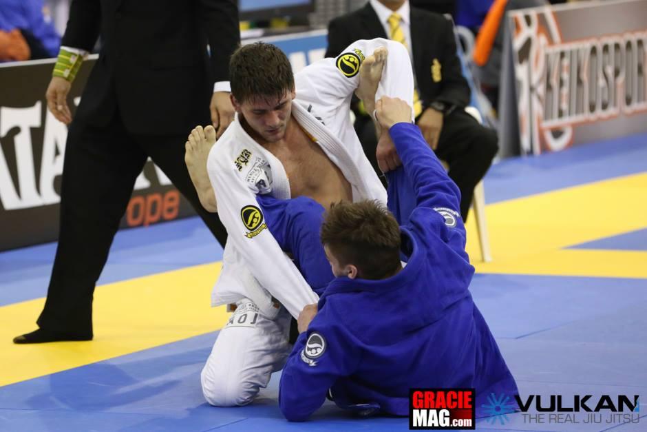 Rafael Mendes representou os irmãos Mendes no Europeu de Jiu Jitsu 2014