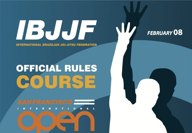 IBJJF San Francisco Open has reached capacity but don't miss the rules seminar