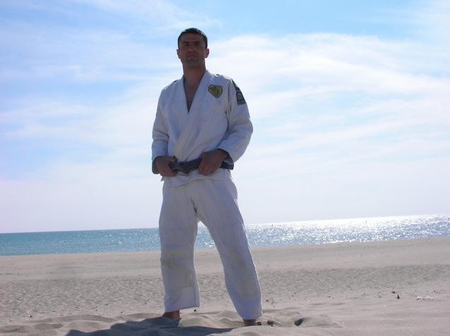 Black Belt François Deniau
