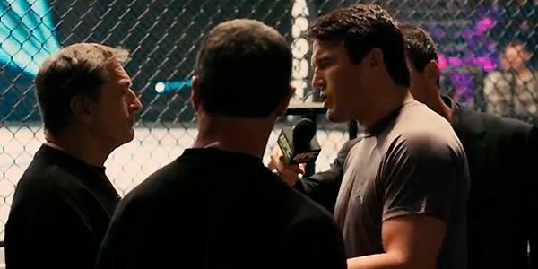 Veja Stallone e Robert De Niro dando uma lição em Chael Sonnen no UFC