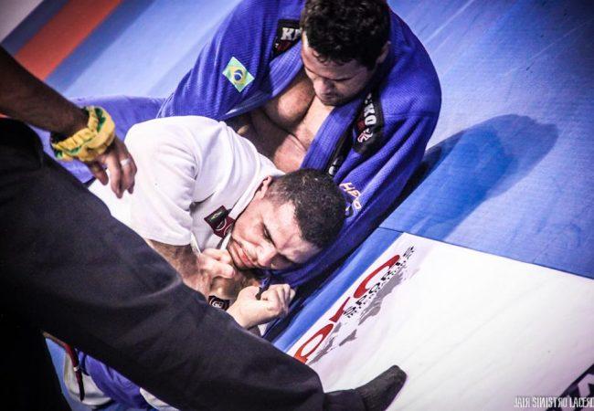 Thiago Gaia vence no Jiu-Jitsu com bonito estrangulamento, em Vassouras