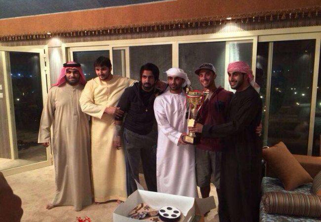 Xeque dos Emirados vence torneio internacional de Jiu-Jitsu e quer lutar Europeu