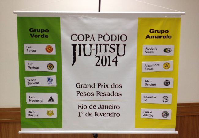 Copa Podio Heavyweight GP claims its groups; Rodolfo and Leandro together
