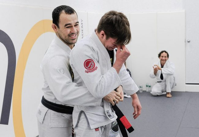 Video: Marcelo's tricky plan and Gianni Grippo's black belt promotion speech