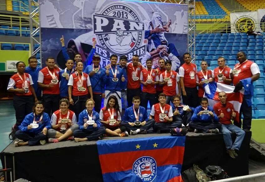 Equipe de Jiu-Jitsu do Bahia. Foto: Divulgação
