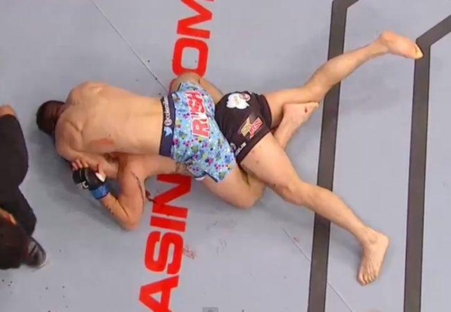 """Vídeo: o mata-leão premiado de Cole """"Magrinho"""" Miller no UFC"""