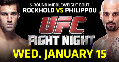 UFC Fight Night 35: Rockhold vs. Philippou quick results